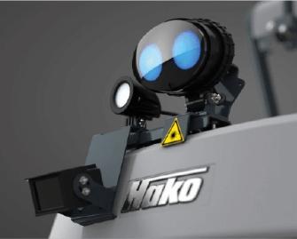 Barredora-fregadora